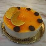 Mousse de taronja